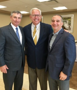 Davis Stokes Collaborative's Willie Stokes, Partner; Excela Health's VP and COO, Mike Busch; Angelo Martini Jr., COO, A. Martini & Co.