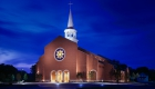 Holy-Trinity-Parish-Exterior-Building-Night