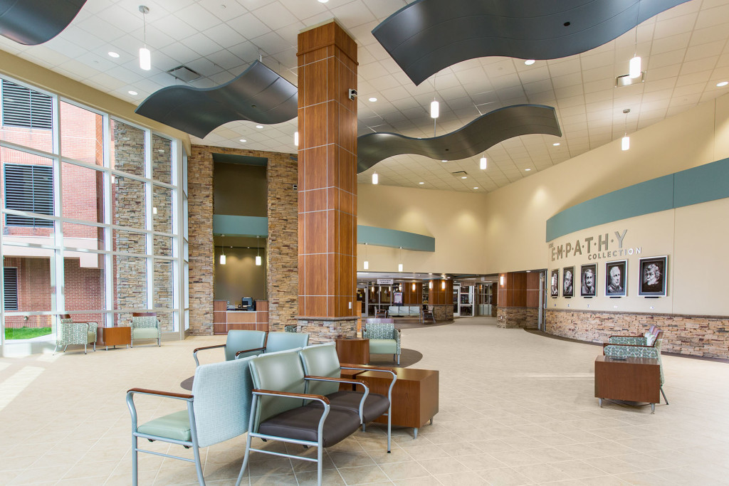 Excela Health's Frick Hospital Main Lobby