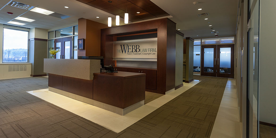 Webb law office reception area for Office pictures
